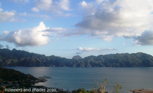 The spectacular view of Calamianes Group of Island as seen from the top