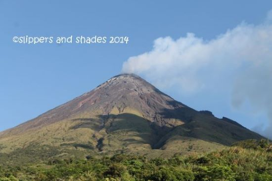 The amazing Mayon Volcano, up close and personal