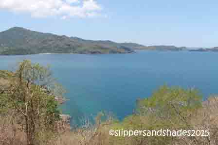 the stunning view of coves and islands of Batangas
