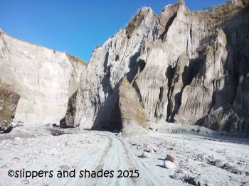 more and more lahar-filled hills