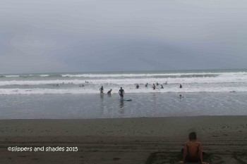 rainy day in Baler