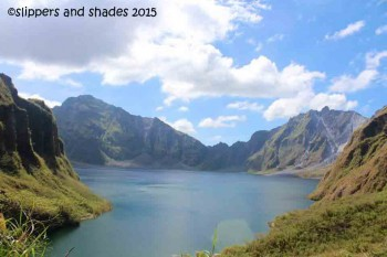 the beautiful crater of Mt. Pinatubo