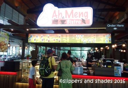 Inside Ah Meng Bistro