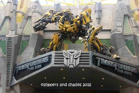 our favorite Transformers the Ride: 3D Ultimate Battle