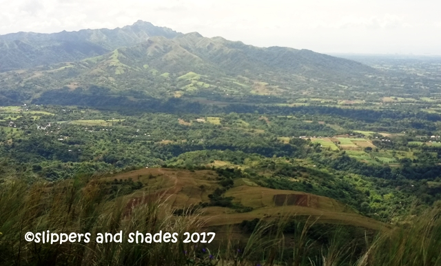 the grand landscape of Mt. Batulao