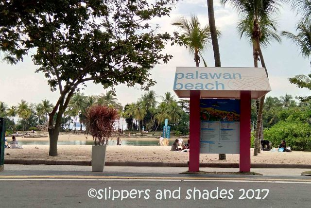 this is the jump off point of Palawan Beach