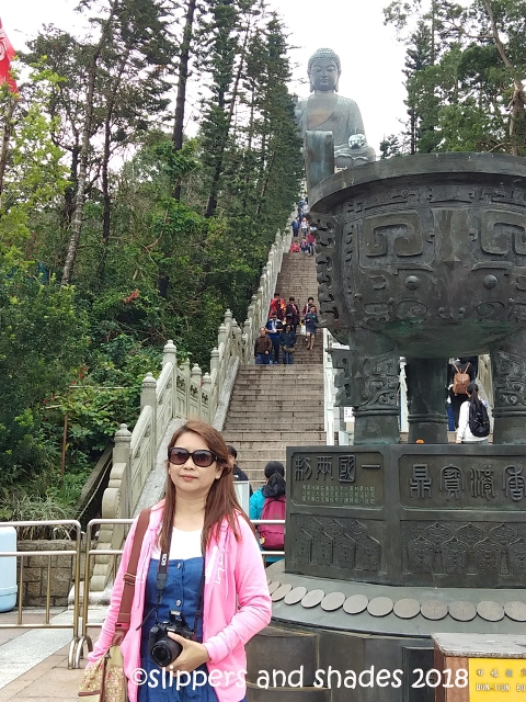 I'm ready to take the 268 steps in getting to the Big Buddha