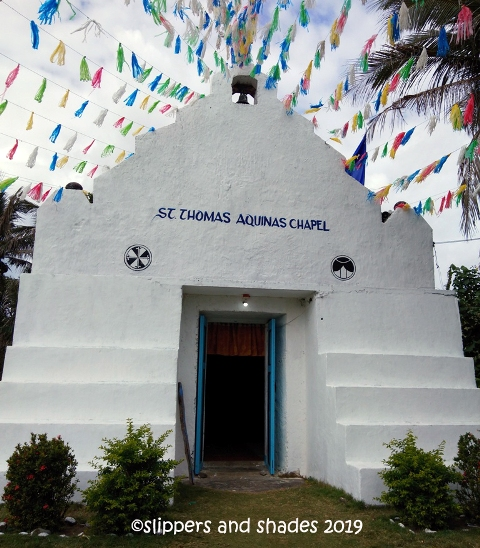 the church in Savidug Village