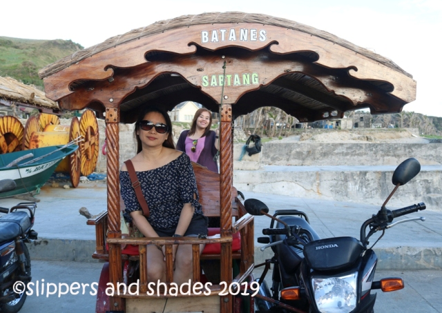 the unique tricycle of Batanes