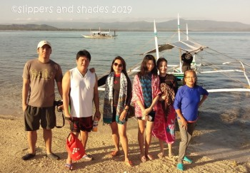 the family that swims together, stays together haha! ready now for Island hopping!