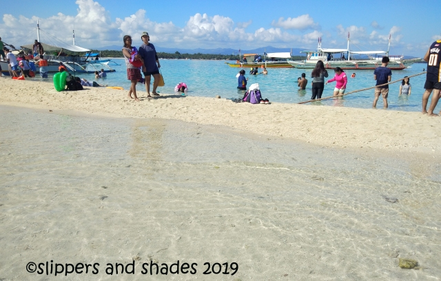 I just can't get enough of the clear and stunning water of Palad Sandbar
