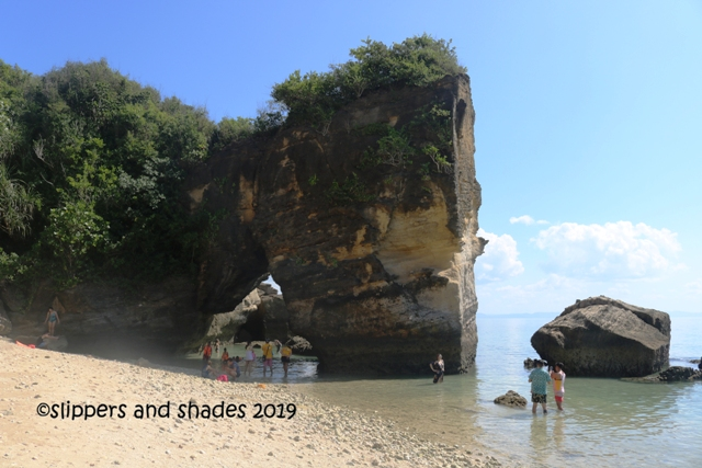 it's good to see another geological wonder in the island of Mongpong