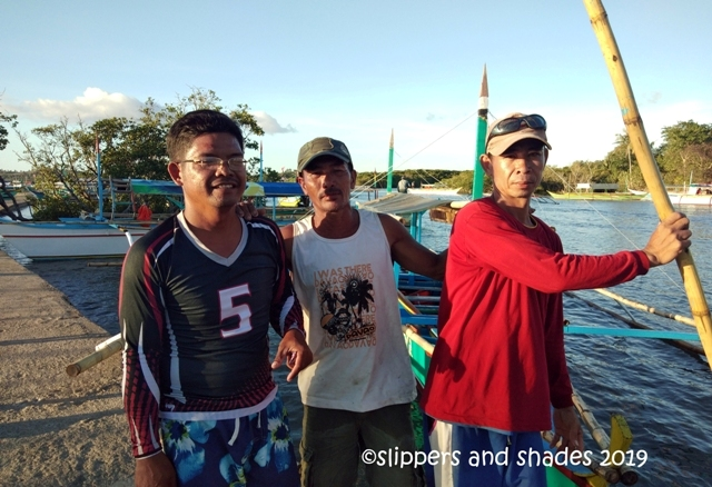 thankful to our boatmen for making our island hopping fun and exciting