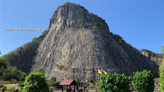 the amazing Buddha Mountain