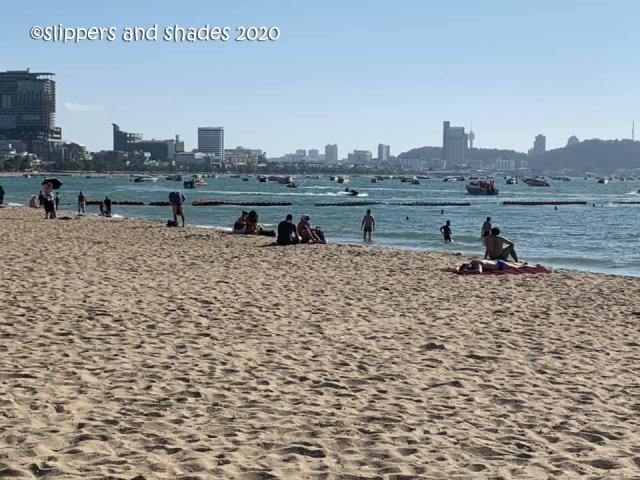 Pattaya Beach by afternoon