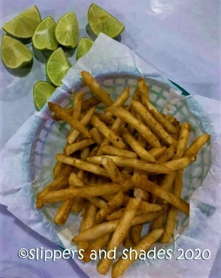 the Cajun fries.. everyone love it!
