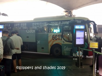 off to Bong House through this bus