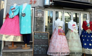 another must-do in South Korea is to hire a hanbok (traditional Korean dress) and enjoy your photo ops