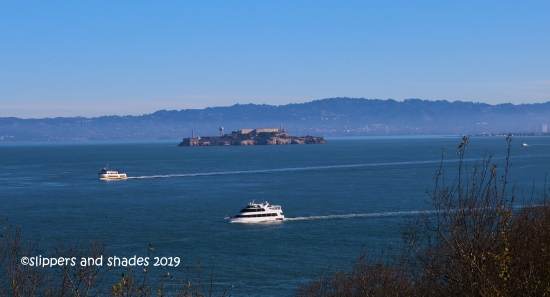 the Alcatraz as seen from the View Area